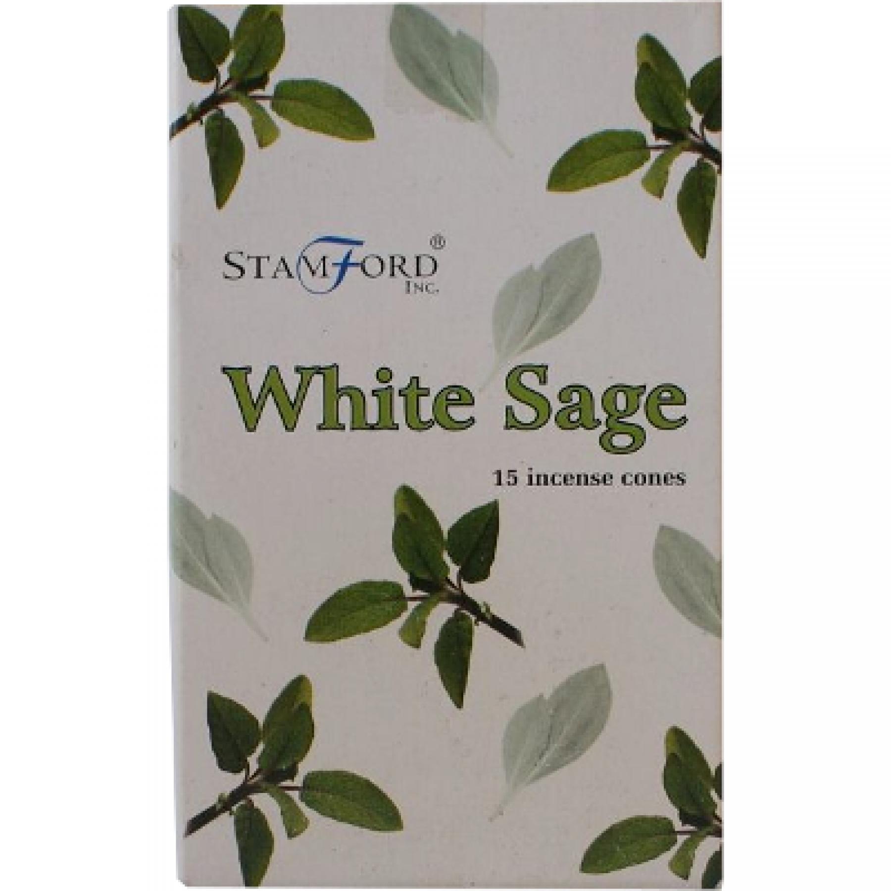 Incenso Cone - White Sage