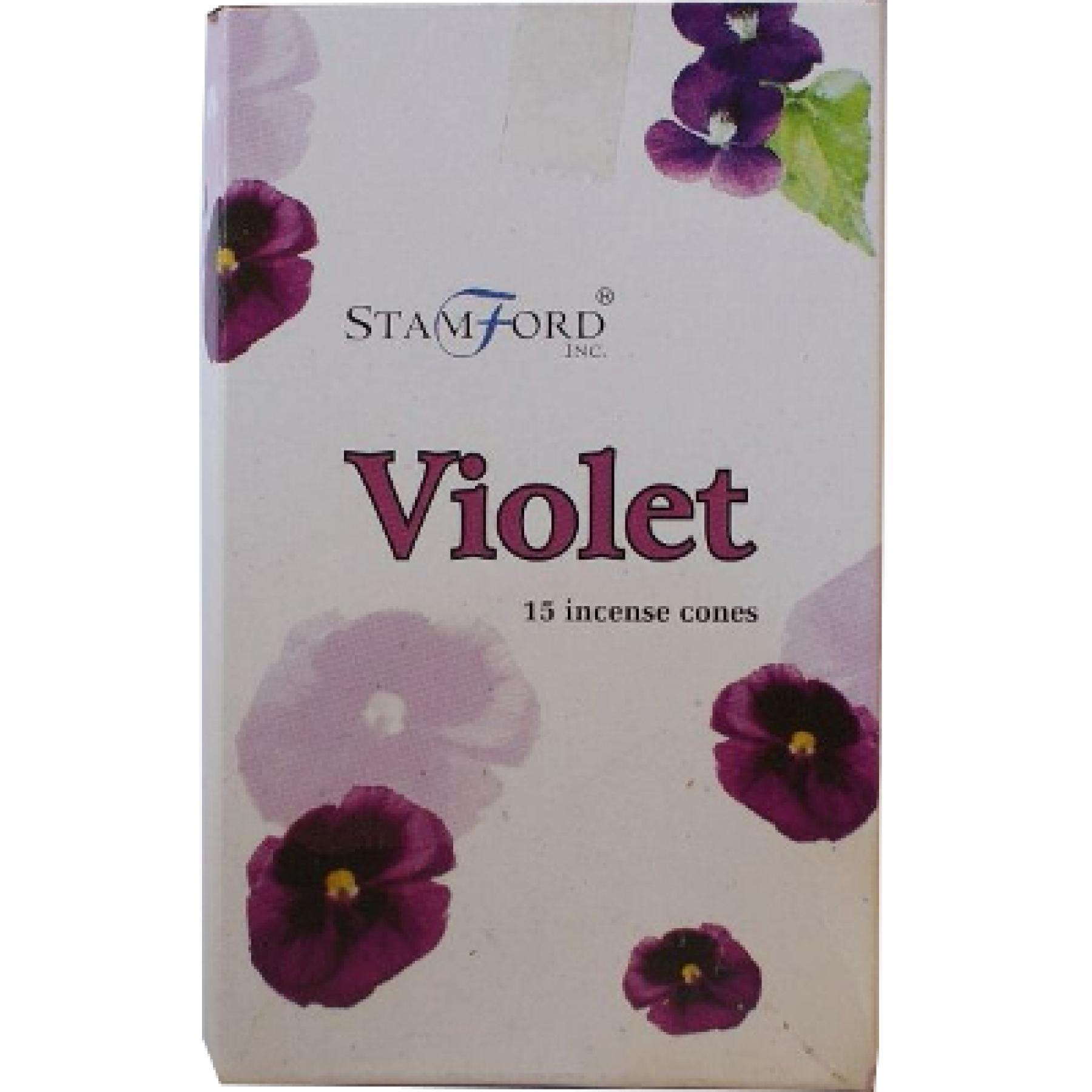 Incenso Cone - Violetas